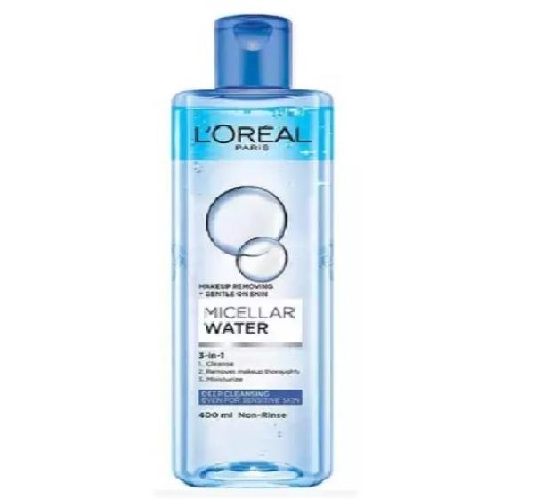 [CHAI XANH] Nước Tẩy Trang không cồn, Sạch sâu cho mọi loại da LOreal Micellar Water 400ml