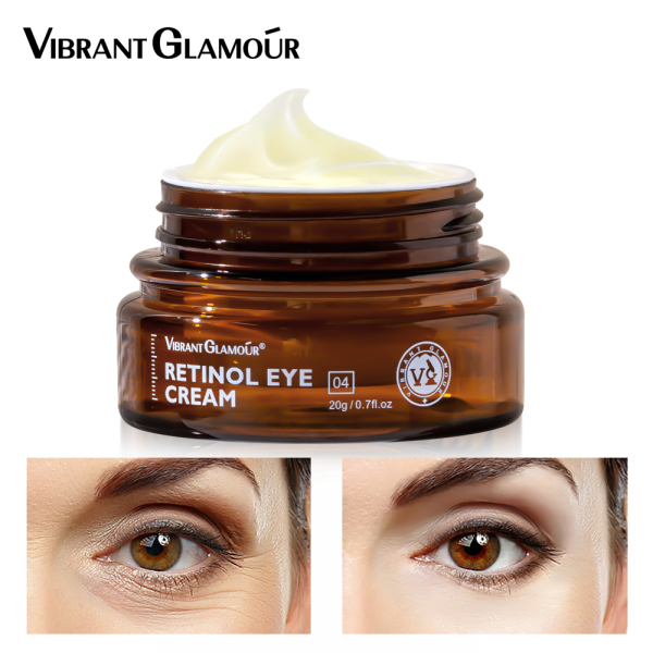 VIBRANT GLAMOUR kem mắt Retinol thế hệ mới xóa quầng thâm bọng mắt và giảm nếp nhăn thâm nám 20g