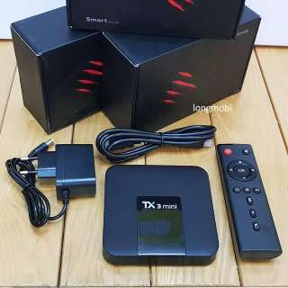 Android TV Box TX3 Mini 2G RAM 16G ROM HĐH 9.0 Có Cổng Quang tặng chuột KÈM THEO