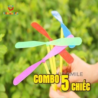 (Combo 5 chiếc) Đồ chơi chong chóng tuổi thơ, đồ chơi vận động cho trẻ phát triển kỹ năng khéo léo của đôi tay và vui chơi thư giãn thumbnail