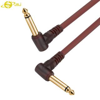 Dây tín hiệu 2 đầu 6 ly cong (6.5mm) JSJ 411E dài 1m dây nối liền mạch đầu cắm mạ vàng chống oxy hóa lớp bảo vệ PVC đầu ra ổn định giảm tiếng ồn gấp đôi và khả năng chỗng nhiễu mạnh chất lượng âm thanh hoàn hảo thumbnail