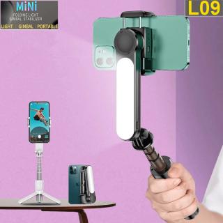 [ ĐA NĂNG-TIỆN LỢI ] Top 5 Gậy Tự Sướng-Gậy Selfie Chụp Ảnh Bán Chạy, Gậy Tự Sướng Chống Rung L09 Kiểu Gimbal Tripod Dùng Cho Điện Thoại, Selfie Chụp Ảnh Từ Xa Bằng Remote Bluetooth 4.0, Có Đèn Led, Quay Video-Chụp Ảnh Đẹp thumbnail