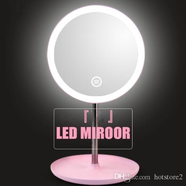 Gương trang điểm Led Mirror 3 chế độ tốt nhất