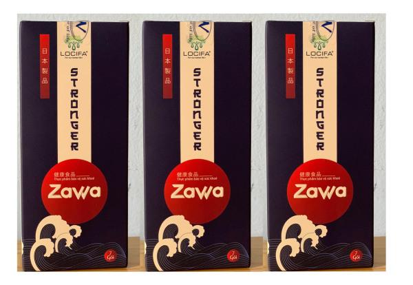 [combo 3 hộp]  ZAWA - Hỗ trợ sức khoẻ nam giới - Mỗi hộp 7 gói dạng nước giá rẻ