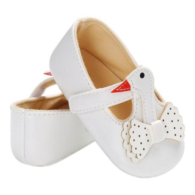 Giày tập đi cho bé gái 0-18 tháng hình thiên nga đáng yêu BBShine – TD1 giá rẻ