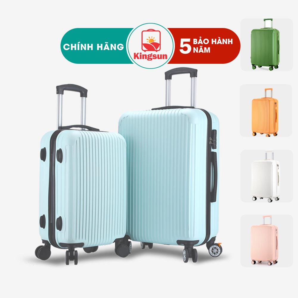 Vali du lịch vali kéo Kingsun Size20/24inch KS-155/T01 Cao Cấp bảo hành 5 năm