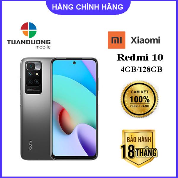 Điện Thoại Xiaomi Redmi 10 (4GB/128GB) - Hàng Chính Hãng