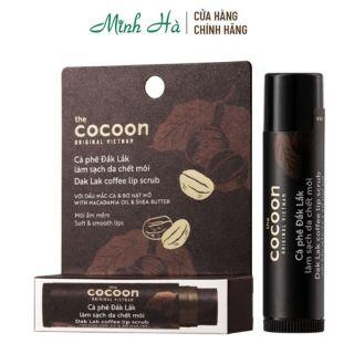 Tẩy da chết môi Cà phê Đắk Lắk Cocoon Coffee Lip Scrub 5g giúp môi ẩm và mềm thumbnail
