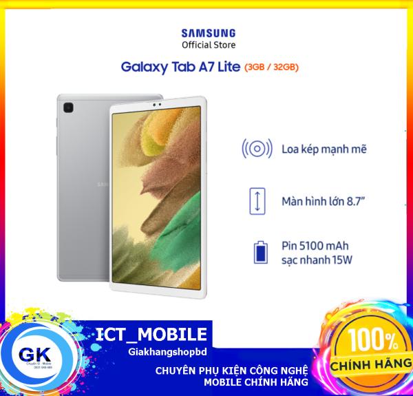 [Nguyên seal] Máy tính bảng Samsung Galaxy Tab A7 Lite (SM-T225) - Hàng Chính Hãng
