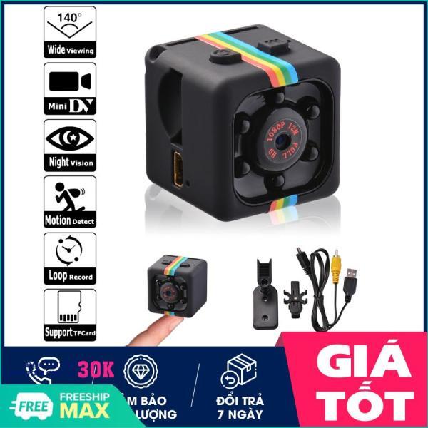 Camera Mini - Camera giám sát, Camera hành trình xe máy full HD 1080, camera hành trình mini giá rẻ SQ11 (Đen) - Hỗ trợ đổi trả 7 ngày