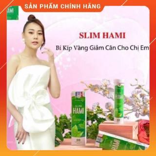 SLIM HAMI - Giảm Cân Nhanh Chóng Và Hiệu Quả (20 VIÊN) thumbnail