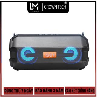 Loa bluetooth GROWNTECH KM 205 kết nối 2 loa bass trầm mua ngay nhận Voucher 50.000 thumbnail