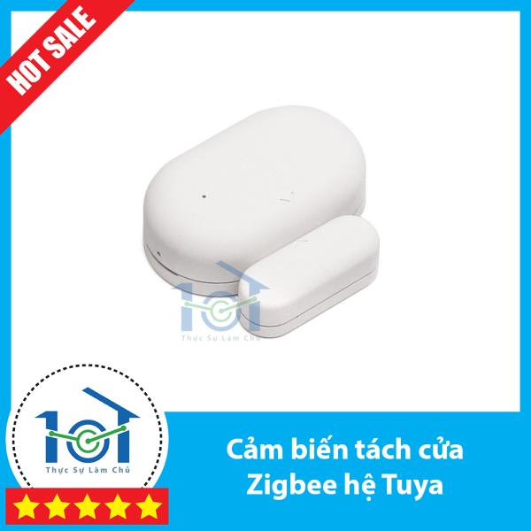 Cảm biến cửa Zigbee hệ Tuya/SmartLife