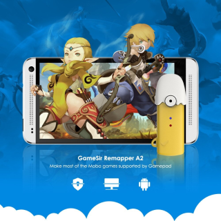 Tay Cầm Game Không Dây Gamesir T1 Gamesir T1s GameSir Remapper A2 Cho PC Android PS3 (Đen) - BH 3 Tháng thumbnail