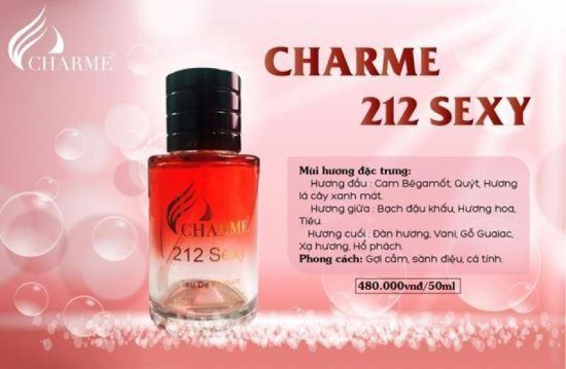 nước hoa nam charme sexy 212 nhập khẩu