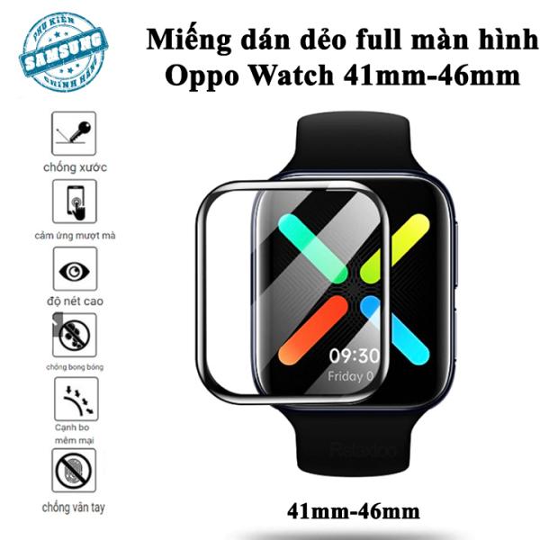 Cường lực dẻo đồng hồ thông minh Oppo Watch