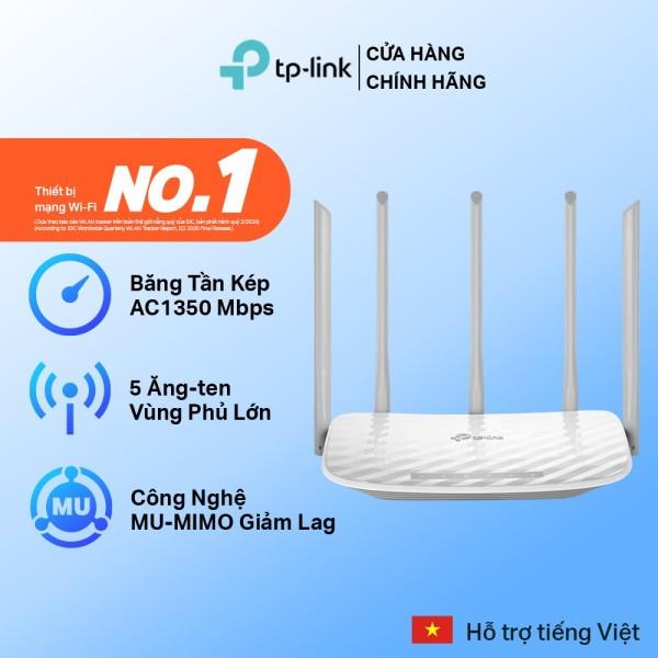 Bảng giá Bộ Phát Wifi TP-Link Archer C60 5 Ăng Ten Băng Tần Kép Chuẩn AC 1350Mbps Phong Vũ
