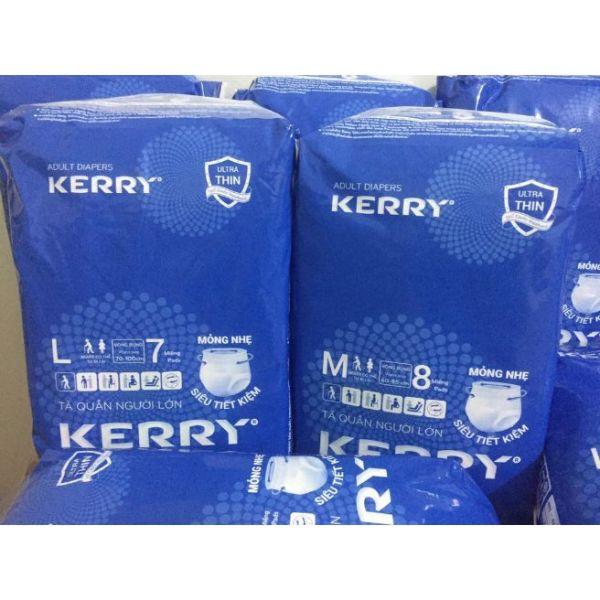Tã quần người lớn Kerry size M 8 miếng L 7 miếng