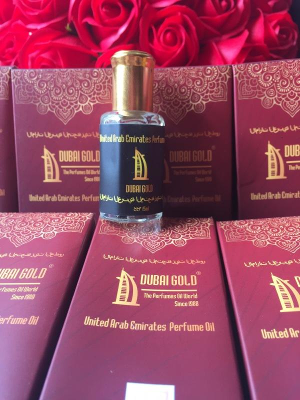 Tinh dầu nước hoa Dubai chai 15ml hộp mềm. Dùng cho Nam và Nữ, nhiều mùi, hàng nhập khẩu chính hãng