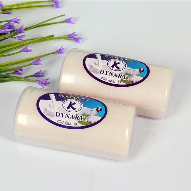 Xà Phòng Sữa Dê Thái Lan - Xà bông tắm - Cung cấp Vitamin - Hương thơm dịu nhẹ tốt nhất