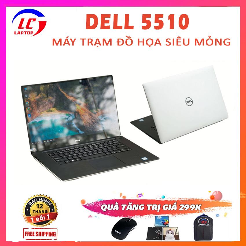 Laptop Đồ Họa, Máy Trạm Đồ Họa Chuyên Nghiệp Dell Precision 5510, i7-6820HQ, VGA NVIDIA Quadro M1000M-2G, Màn 15.6 FullHD IPS, Laptop Dell, Laptop i7