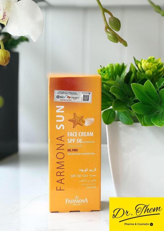 Kem Chống Nắng Farmona Sun Face Cream Oil Free Spf 50 Cho Da Dầu Mụn nhập khẩu