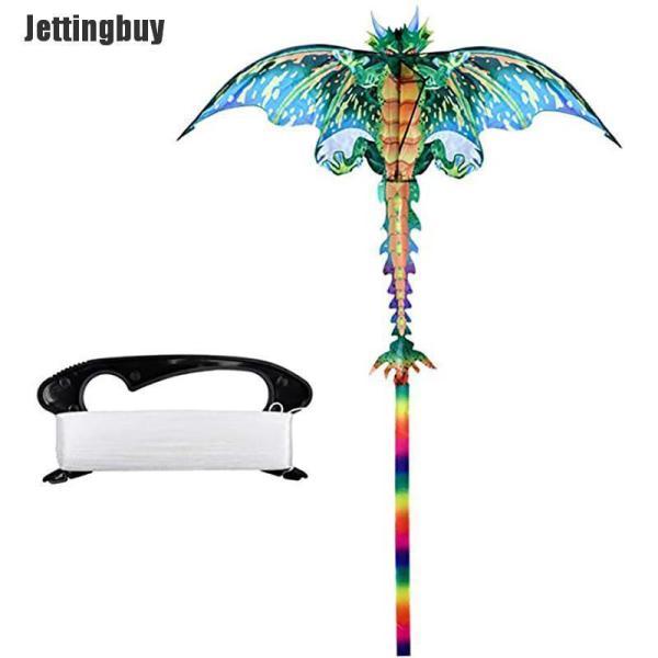 Diều Rồng Jettingbuy Pterizard 3D Một Dòng Đồ Chơi Trẻ Em Người Lớn Thể Thao Ngoài Trời Có Đuôi