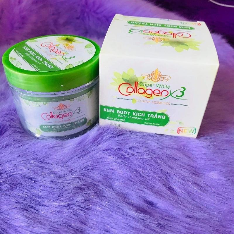 Kem Body Kích Trắng Collagen X3 - Giáng Kiều giá rẻ