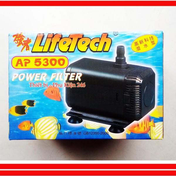 Máy bơm nước hồ cá Lifetech AP5300 80W - Máy Bơm Bể Cá Cao Cấp
