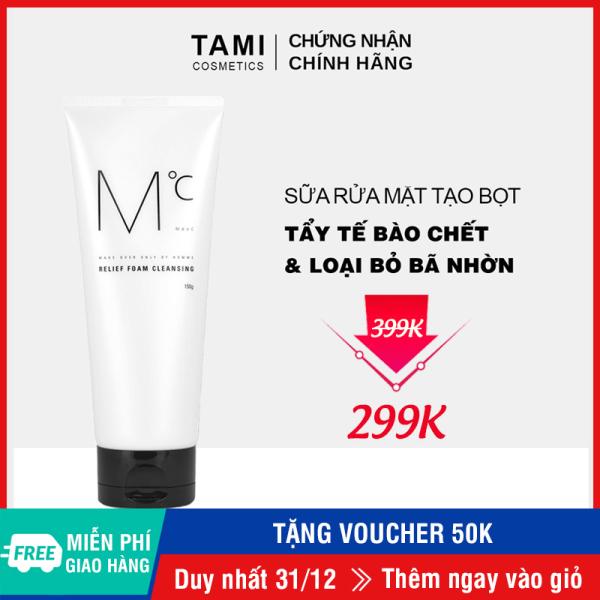 Sữa rửa mặt nam loại bỏ bã nhờn MdoC Relief Foam Cleansing 150g TM-MRM03 nhập khẩu