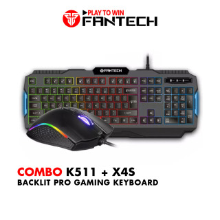 Combo FANTECH Newbie Bàn Phím K511 + Chuột Gaming X9 X4s X5s - Hãng Phân Phối Chính Thức thumbnail