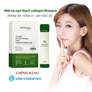 [Hộp 20 Gói] Mặt nạ ngủ thạch Bioaqua Collagen Firming Sleeping Mask nâng cơ mặt dưỡng da săn chắc mỹ phẩm nội địa Trung chính hãng - Gấm Cosmetics thumbnail