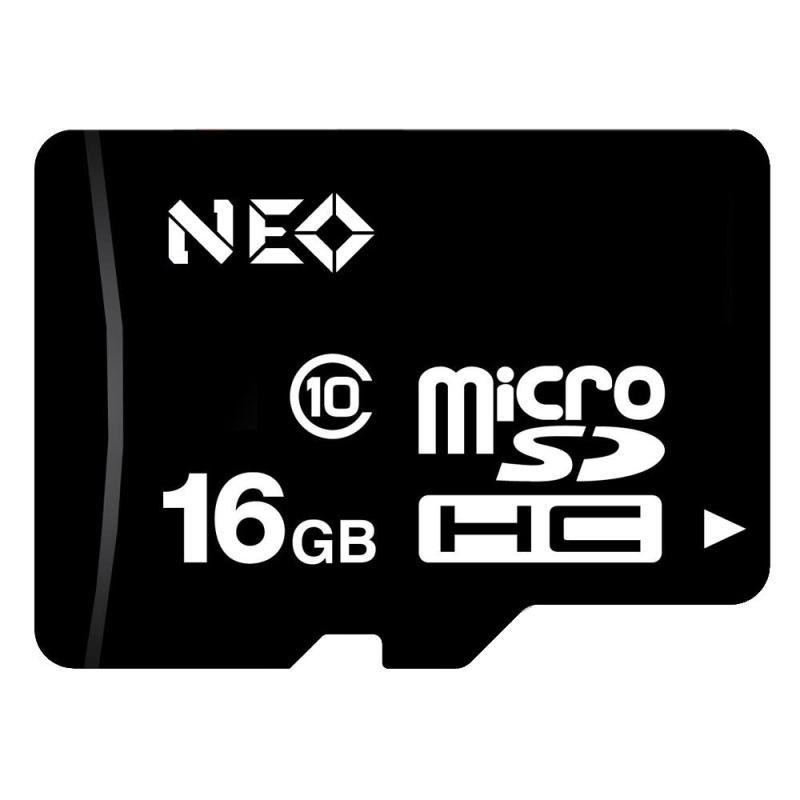 Thẻ nhớ 16gb Neo Class 10 cho camera , điện thoại , máy tính bảng - bảo hành 5 năm