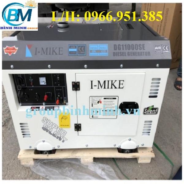 Máy Phát Điện Chạy Dầu I-MIKE 10KVA DG 11000SE