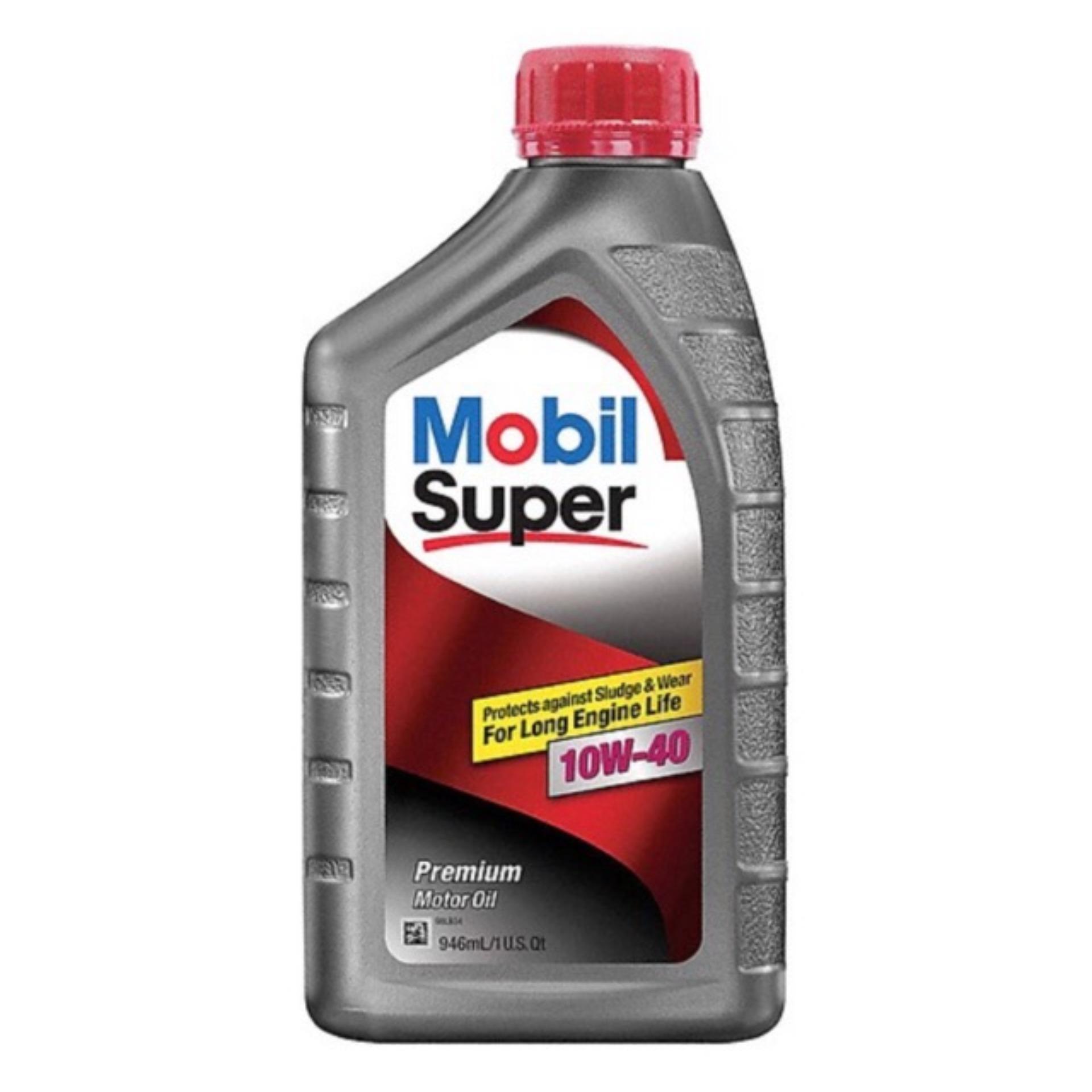 Dầu Nhớt Mobil Super 10W-40 946ml Giá Tốt Nhất Thị Trường