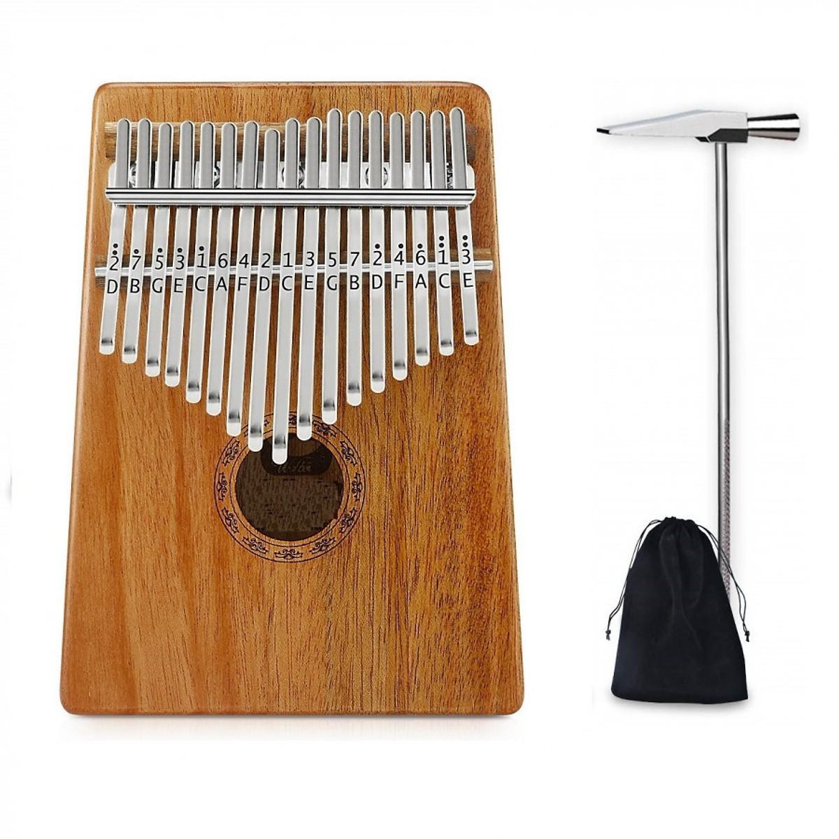 Đàn piano Kalimba bằng gỗ 17 phím sử dụng bằng ngón tay cái ,17 Phím Kalimba Châu Phi Chắc Chắn  Ngón Tay Cái Đàn Piano Ngón Tay Bộ Gõ Quà Tặng ,17 Phím Kalimba Châu Phi Chắc Chắn Gỗ Mahogany Ngón Tay Cái Đàn Piano Ngón Tay Bộ Gõ Quà Tặng