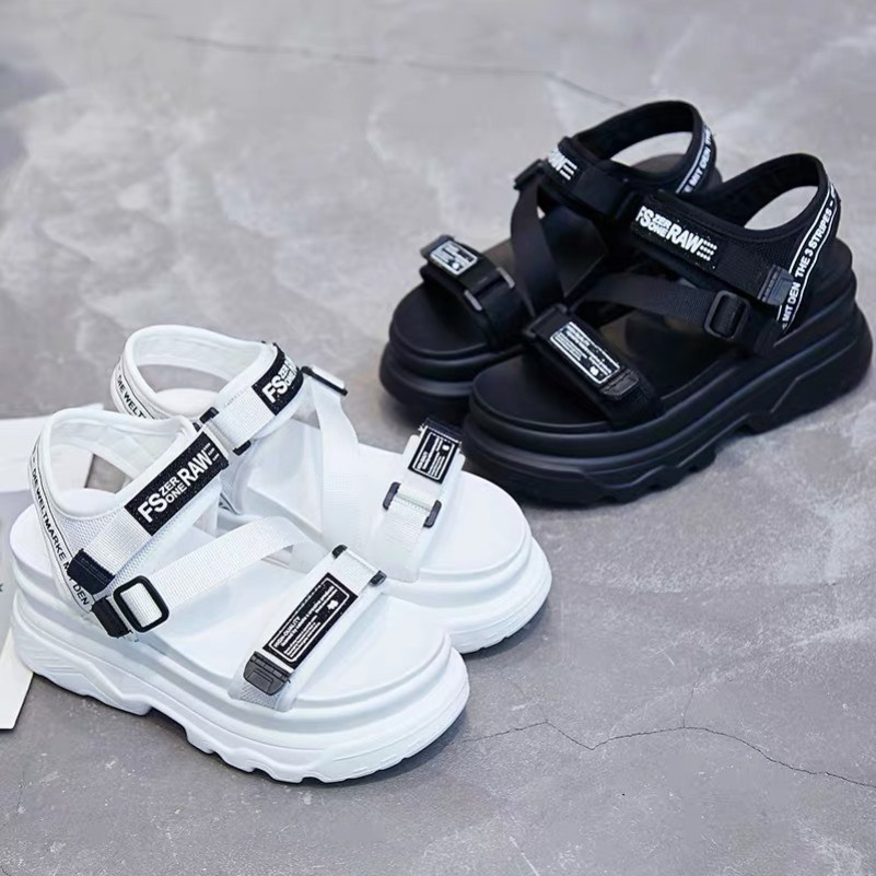Sandal nữ,sandal học sinh độn đế 5p fashion kiểu dáng mới siêu hót giá rẻ