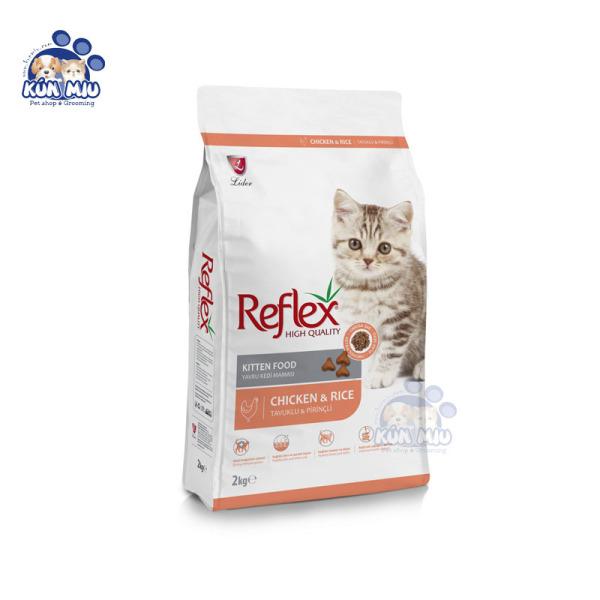 Thức Ăn Cho Mèo Con REFLEX KITTEN Vị Thịt Gà 2kg