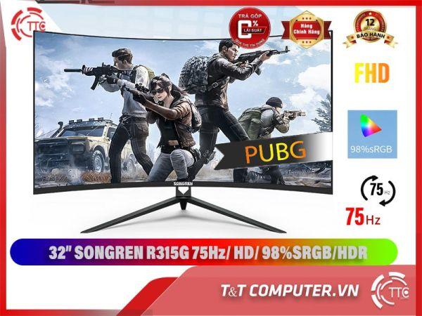 Bảng giá Màn Hình cong Songren 32 inch 75hz newbox 100% Phong Vũ