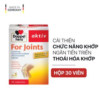 Viên uống cải thiện chức năng khớp và ngăn sự tiến triển thoái hóa khớp Doppelherz Aktiv For Joints (Hộp 30 viên) thumbnail