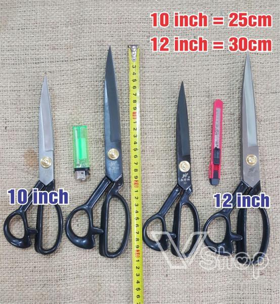 Kéo cắt vải, kéo thợ may. 10 inch, 12 inch