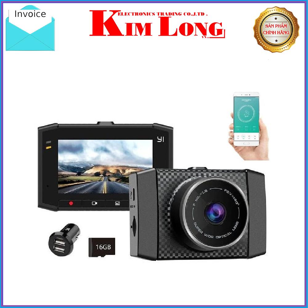 """Camera hành trình Yi Ultra Dash Cam 2.7"""" King Edition - Digiworld phân phối - YCS.1517"""