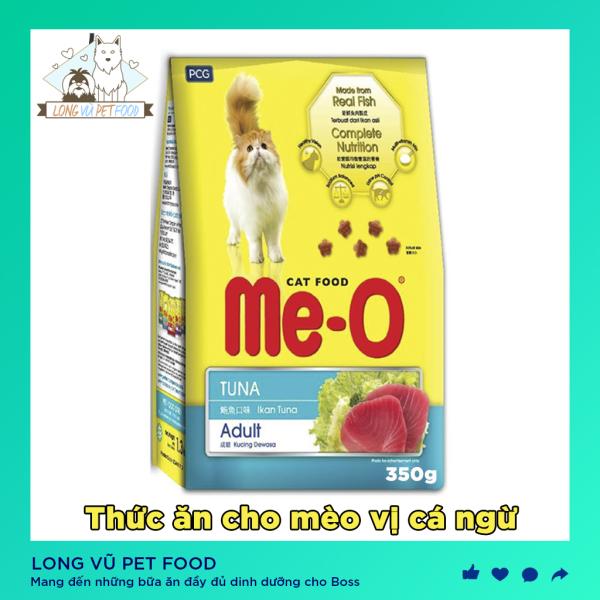 Thức ăn cho mèo lớn, hạt cho mèo ME-O (3 vị) 350gr