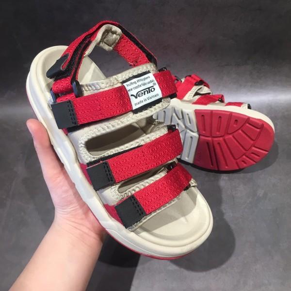 Sandal VENTO Nam nữ SD1001 Đỏ be giá rẻ