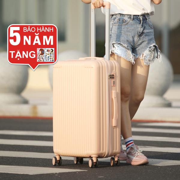 Vali du lịch vali kéo Size20/24inch KV-155/T01 Cao Cấp bảo hành 5 năm