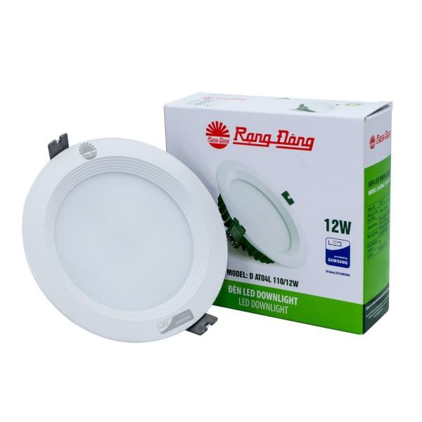 Đèn LED Âm trần Downlight Rạng Đông AT04L 110/12W