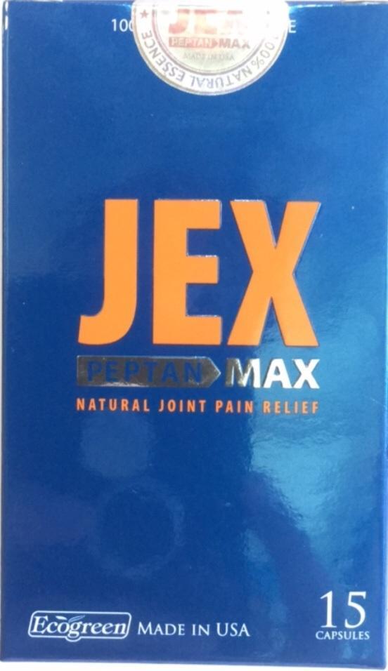 VIÊN BỔ KHỚP - GIẢM ĐAU XƯƠNG KHỚP - TÁI TẠO VÀ NUÔI DƯỠNG SỤN KHỚP JEX MAX 15 viên nhập khẩu