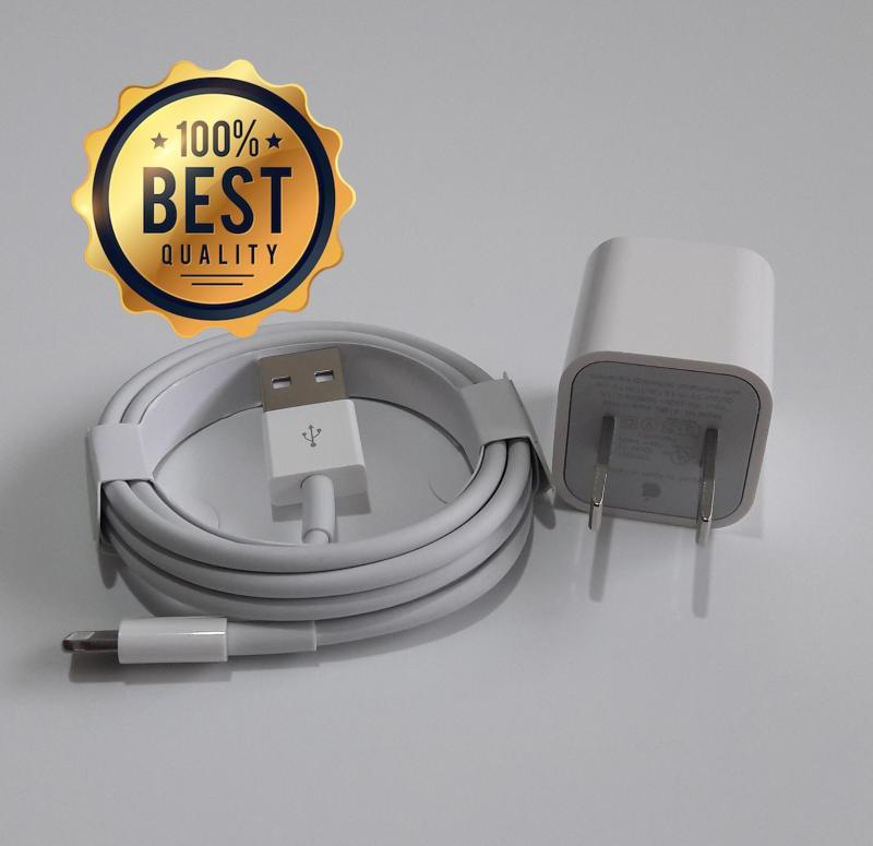 Giá Bộ sạc iPhone (dùng cho iPhone 6s, iPhone 6, iPhone SE, iPhone 5s, iPhone 5 (Cam kết hàng Zin - có hướng dẫn phân biệt) (Adapter + Cable Lightning)