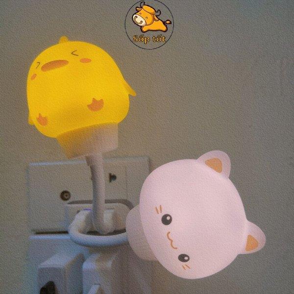 Bảng giá đèn ngủ usb hình đầu thú cute và độc lạ ngộ nghĩnh siêu đáng yêu ánh sáng đẹp Phong Vũ