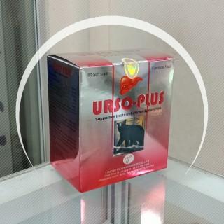 Tăng cường chức năng gan, thanh nhiệt, mát gan viên nang URSO PLUS chứa ursodesoxycholic, hộp 60 viên thumbnail